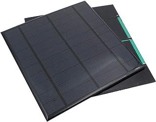لوحة شمسية صغيرة محمولة مصغرة مصغرة لوحة الطاقة الشمسية DIY لوحة نظام لمصباح الطاقة الشمسية ألعاب الشواحن الهاتف