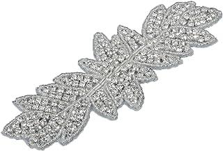 comprar comparacion Ab Hierro Cristal Sobre Apliques Para La Boda Vestido De Novia Decoracion Bricolaje
