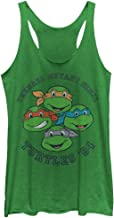 Teenage Mutant Ninja Turtles Women's Group '84 Racerback Tank Top