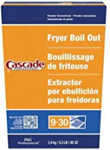 (Pack of 6) Cascade with Phosphates Professional Fryer Boil Out 85oz