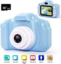 hyleton Digital Camera for Kids, 1080P FHD Kids Digital Video Camera with 2 Inch IPS..