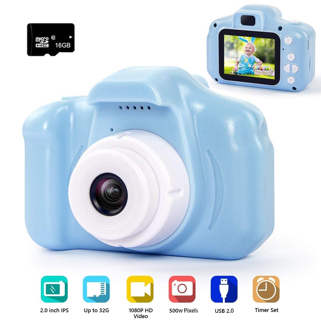 hyleton Digital Camera 1080P Screen