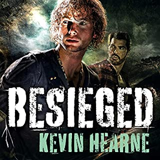 Besieged     Stories from the Iron Druid Chronicles              By:                                                                                                                                 Kevin Hearne                               Narrated by:                                                                                                                                 Christopher Ragland                      Length: 8 hrs and 38 mins     13 ratings     Overall 4.8