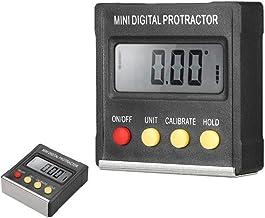 ZHQHYQHHX Taladros Mini inclinómetro Digital magnético Protractor Medidor de ángulo Regla de ángulo