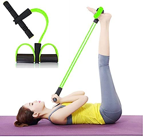 GENIC Health Body Trimmer for Fitness Exercise and Waist Rubber Pull Rope Exerciser