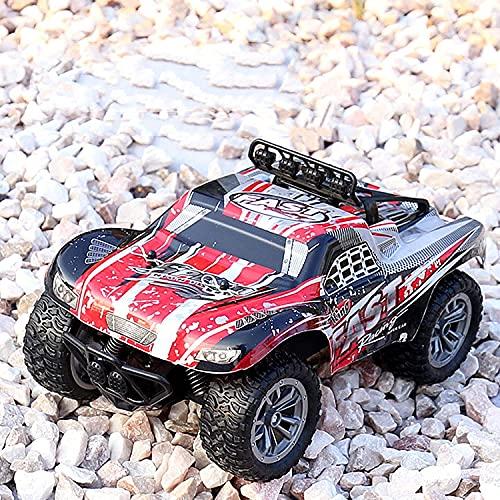 M-zen Off-Road RC Car 25 Km/H 2.4G High Speed Bigfoot Monster Reptile RC Truck Vehículo RC 1:18 Scale Desert All Terrain Climbing Drift Tracked RC Car Niños Juguetes Niños Regalos De Cumpleaños