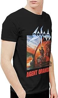 BowersJ Sodom Agent Orange Men's T-Shirt Black