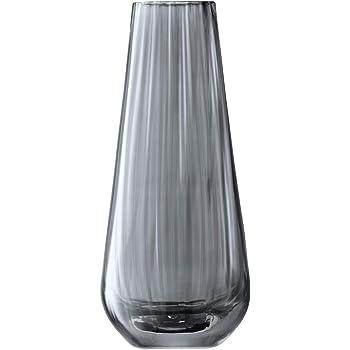 LSA International ZI01 Zinc Vase H18cm Sheer Zinc