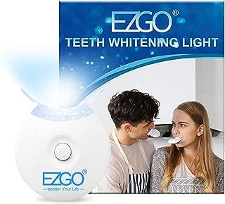 EZGO Teeth Whitening Accelerator LED Light 5X LED Light Whiten Teeth Faster, Works with Tooth Whitening Gel, Whitening Trays or White Strips