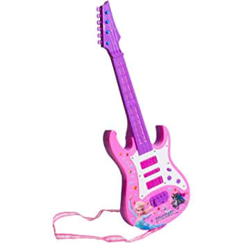 Tickles Pink Rock anad Roll Musical Instrument Guitar Toy for Girl  Kids