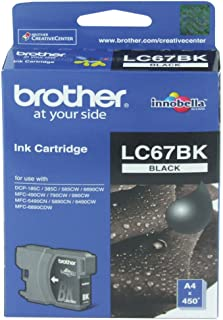 Brother LC67 Ink Cartridge 300-Pages Black