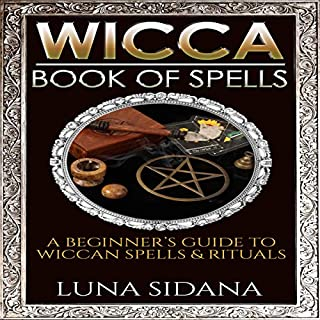 Wicca Book of Spells cover art