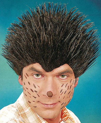 Orlob Tier Perücke Igel zum Kostüm an Karneval Fasching