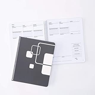 """Class Tracker Academic Planner Undated High School Edition (7"""" x 8.5"""") - Planner to Increase Productivity - Student Calend..."""