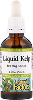 Natural Factors Liquid Kelp, 50ml, 1.6 Fluid Ounce