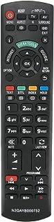 VINABTY Backup Afstandsbediening N2QAYB000752 Compatibel met Panasonic TX-L32ET5B TX-L32ET5E TX-L32ET5Y TX-P50UT50B TX-P50...