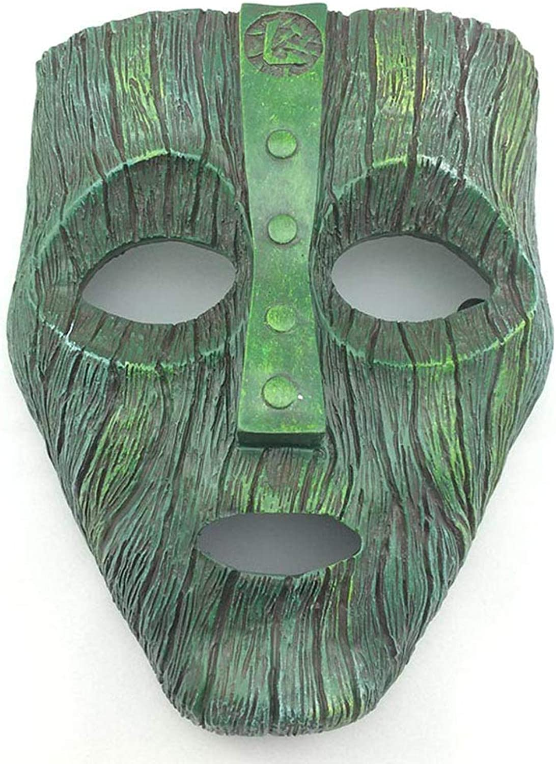 Zicue Humgoldus Mask Masquerade Prom Mask Halloween Horror Costume,green Cosplay Props Gifts Unisex  Adult, Single Size