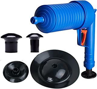 High Pressure Toilet Plunger Drain Pump Pipe Dredge Cleaning Tool