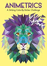 Animetrics: A Striking Color-By-Sticker Challenge
