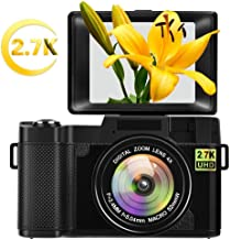 Digital Camera Vlogging Camera for YouTube with Flip...