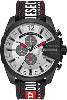 Diesel Mega Chief, Men's Chronograph Watch, DZ4512 - Black