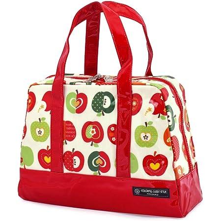 プールバッグ(ボストンタイプ) おしゃれリンゴのひみつ(アイボリー) N2901400