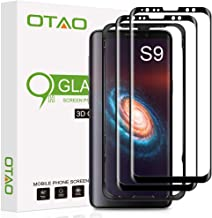 Galaxy S9 Screen Protector Tempered Glass 2 Pack, OTAO 3D Curved Dot Matrix [Full Screen Coverage] Glass Screen Protector for Samsung Galaxy S 9 with Installation Tray [Case Friendly]