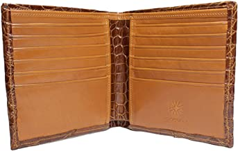 product image for Large Cognac American Alligator Wallet