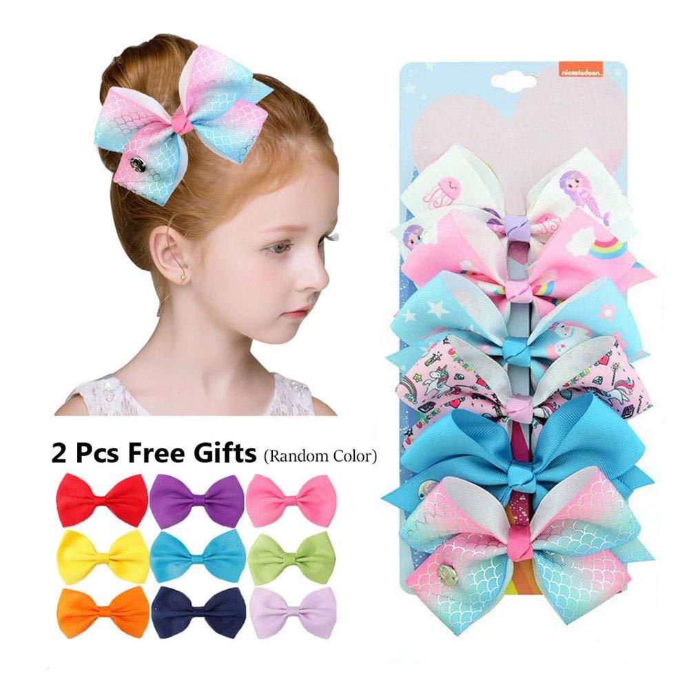 10 UNICORN Hair Clips Kids Girl Hair Accessories Hairclips Hair Slides UK SELLER