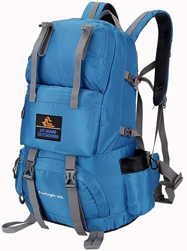 QWKZH Sports et Loisirs Sac à Dos en Plein air pour Hommes et Femmes Sac en Plein air imperméable léger Sac à Dos Sac de Voyage Professionnel Alpinisme