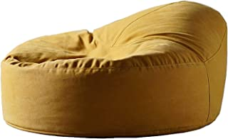 WSJTT Bean Bag Chairs, Chaise Lounges, Lazy Lounger Bean Bag Storage Chair Cover for Adults and Kids Indoor Outdoor for Ho...