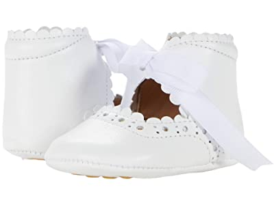 Elephantito Sabrinas (Infant/Toddler) (White 1) Girls Shoes
