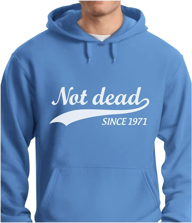 - TeeStars - Not Dead Since 1971 1971 1971 - Funny 45th Birthday Gift Idea Hoodie 4f5878