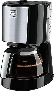 Melitta Enjoy II Top 1017-04, Cam Sürahili Filtre Kahve Makinesi, Aroma Selector Aroma Seçimi, Siyah Paslanmaz Çelik, 1.35...