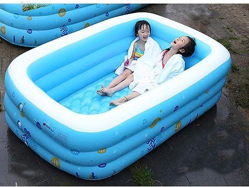 de moda Swimming pool Piscina Inflable Gigante YUHAO(UK) para Niños Niños Niños – Piscina Rectangular Inflable para Familia y Niños  n ° 1 en línea