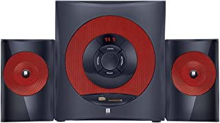 iBall Tarang Hi Basss Red 2.1 Full Wood Multimedia Speaker