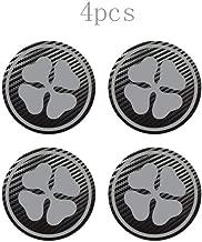 4pcs for for ALFA Romeo MiTo Giulietta Giulia 147 156 Badge Logo Carbon Center Caps Alloy Wheel Hub Stickers Gray 70 Mm