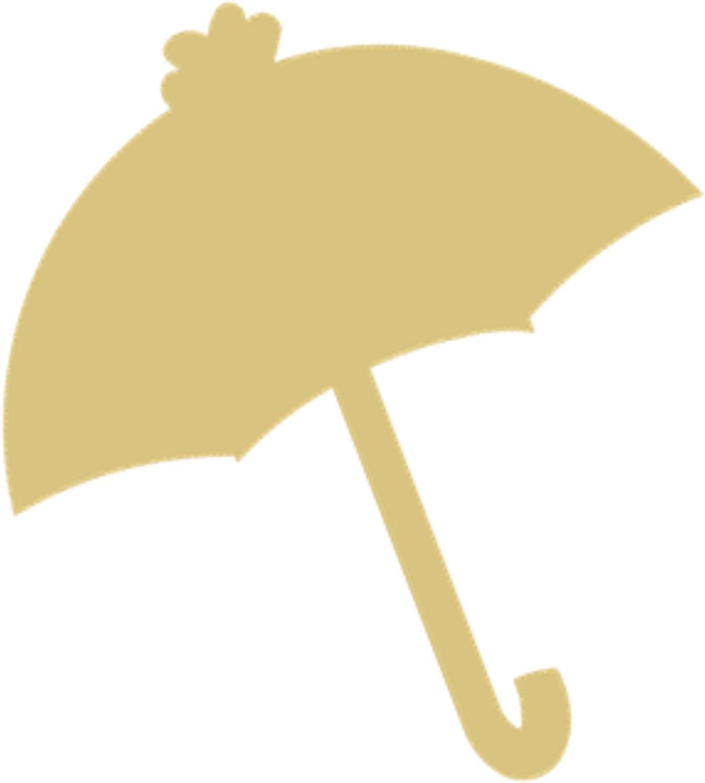 Umbrella Cutout Unfinished Wood Soldering Award-winning store Decor Nursery Kids Spring