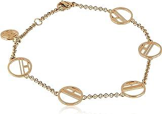 اساور مصنوعة من الفولاذ المطلي بالذهب ايونيا للنساء من تومي هيلفجر - طراز 2780326