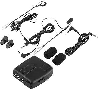 EVTSCAN Motor Intercom met Accessoires, Motor Intercom Intercom Met Headset Helm Naar Helm Communicator Systeem