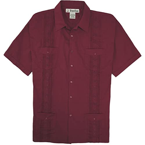 c1886cc6b3 Foxfire Big   Tall Men s Guayabera Casual Shirt