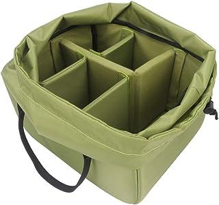 Yimidear インナーボックス インナーソフトボックス  防水 防振 カメラカバー デジカメラインナーバッグ 一眼レフカメラケース カメラボックス カメラバッグアクセサリー (L)
