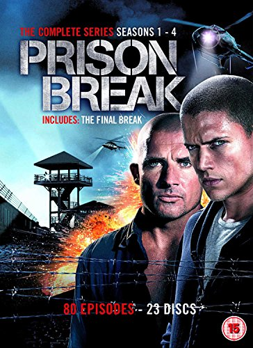 Prison Break: Complete Season 1-4 [23 DVDs] [UK Import]