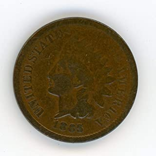 1865 5 cent coin