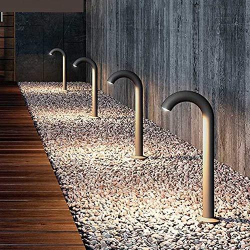Luces de Jardin Solares Exterior Decorativas 40 / 50CM Pilar Jardín Poste al aire libre del césped luz impermeable Doblado Tap Spotlight paisaje Camino Camino lámparas del bolardo Solar Garden Lights