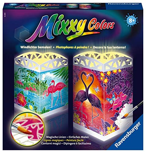 Ravensburger Mixxy Colors Malen 27691 - Welt der Flamingos