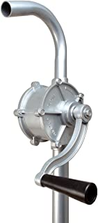 Bomba manual rotativa de aluminio para bidón