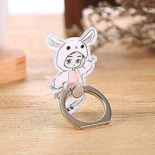 AMA StarUK36 EXO Mehrfarbiger Schlüsselanhänger Cartoon Acryl Schlüsselanhänger Handy Halterung Hot Geschenk für Fans, acryl, H07