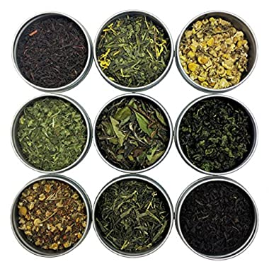Heavenly Tea Leaves Loose Tea Sampler (Classic 9 Tea Sampler)