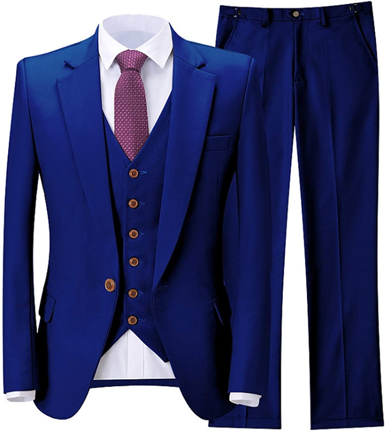 Men's Suits Blue Blazer Leisure Jackets Party Tuxedos Tailored Morning Suits Blazer